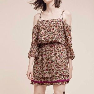 Anthropologie Floreat Everett Off Shoulder Dress